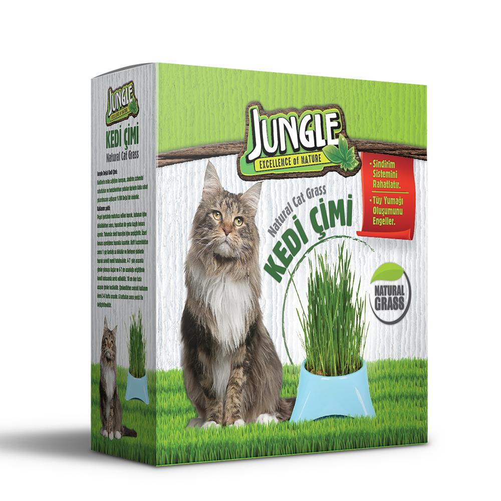 Jungle Kedi Çimi